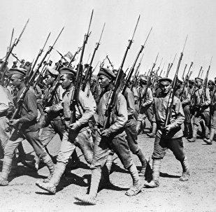 Desfile del Ejército Rojo, 1920