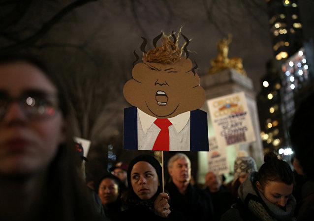 Protestas contra el presidente estadounidense Donald Trump