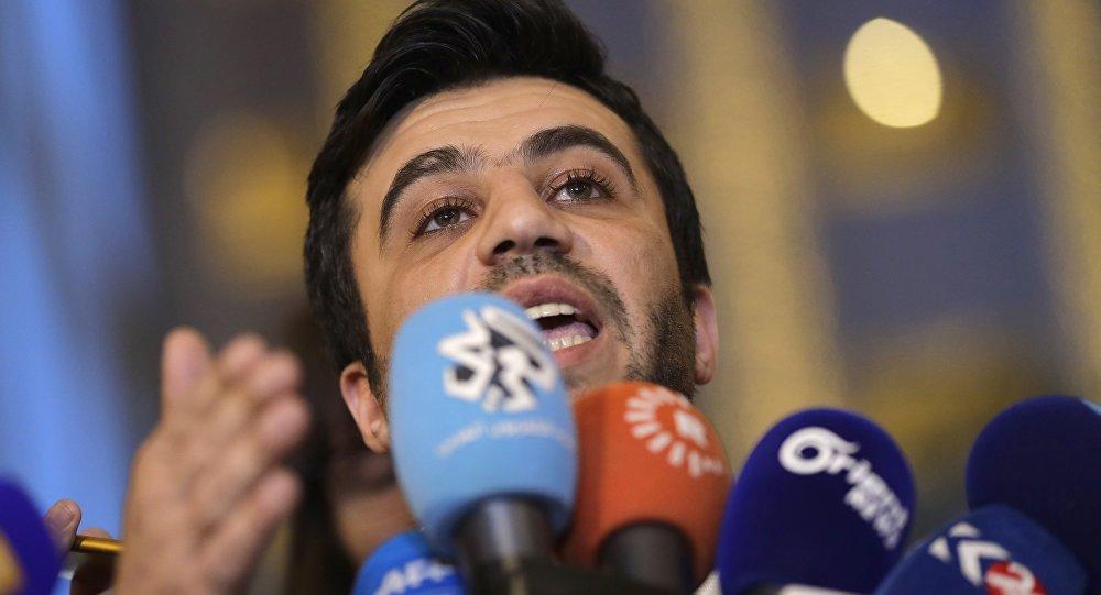 Isam Rais, miembro de la delegación de oposición siria en Astaná