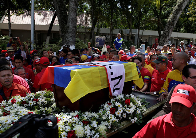 Conmemoración del activista Fabricio Ojeda en Caracas