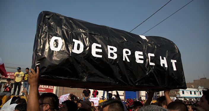 Inscripción 'Odebrecht'