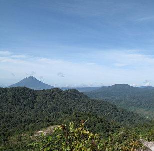 Localidad de Sinabang, Indonesia