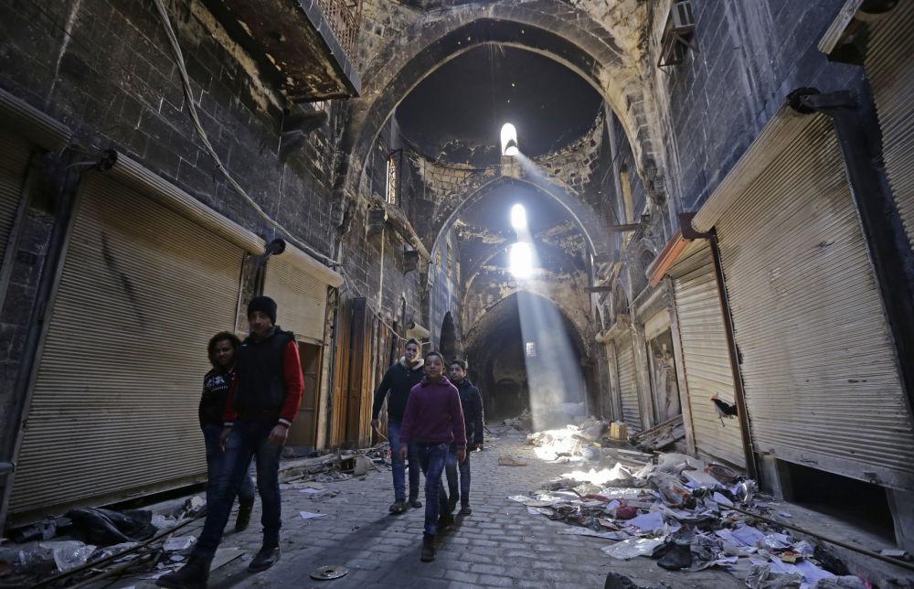 La historia en ruinas: monumentos de Alepo hoy