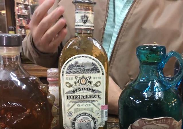 Tienda de tequila en Tlaquepaque