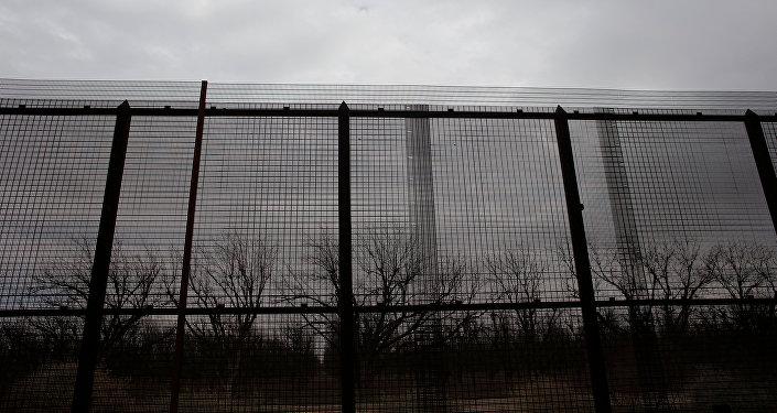 La frontera entre México y EEUU