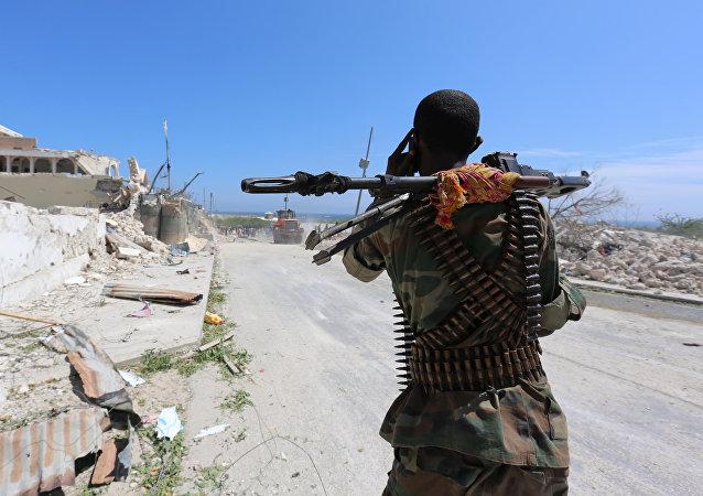Policía somalí (archivo)