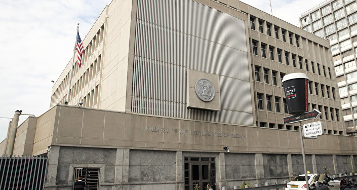 Embajada de EEUU en Tel Aviv, Israel (archivo)
