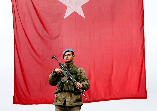 Un soldado turco