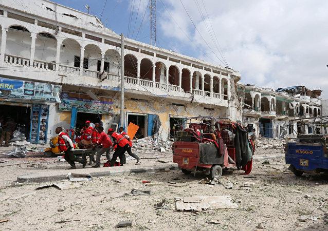 Explosión en Mogadiscio