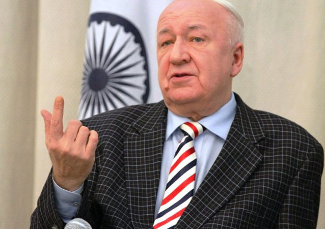 Alexandr Kadakin, el embajador ruso en la India