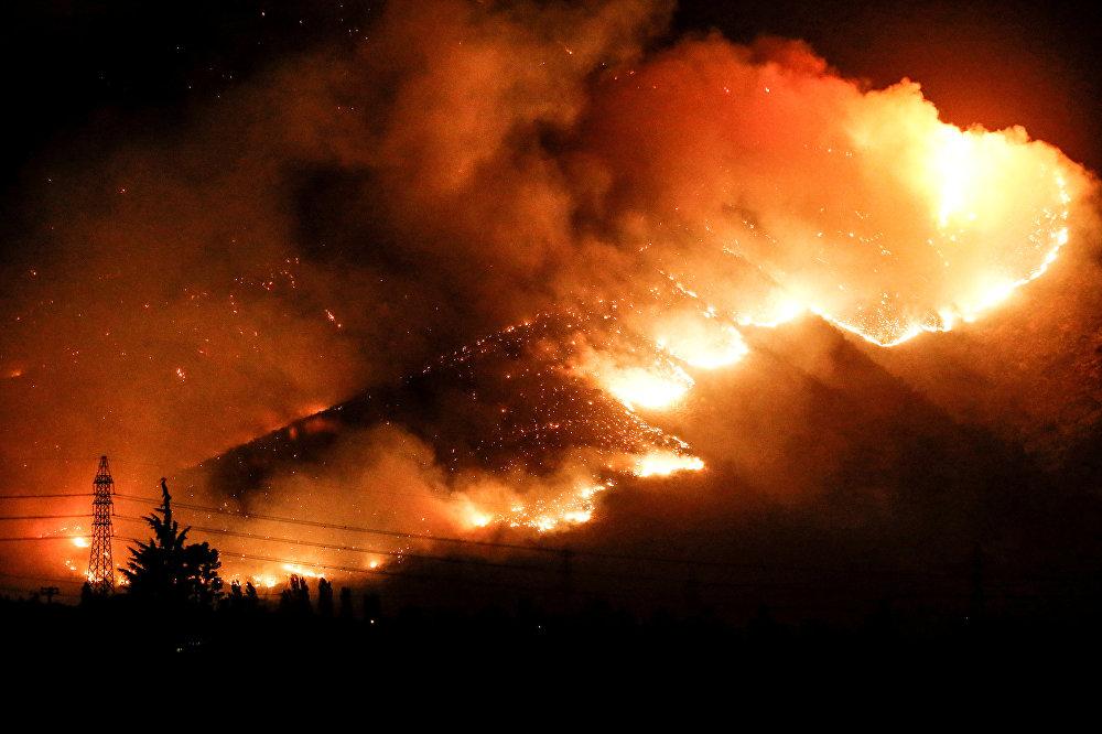 Incendios forestales en Chile