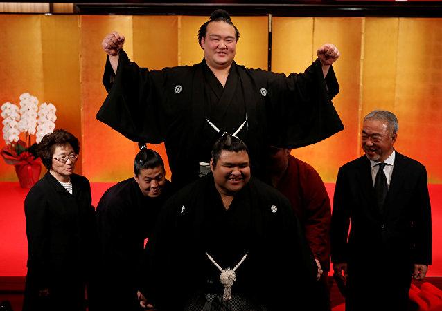 Ozeki Kisenosato, gran campeón del sumo