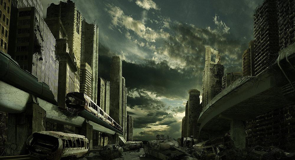 Una ciudad después del apocalipsis