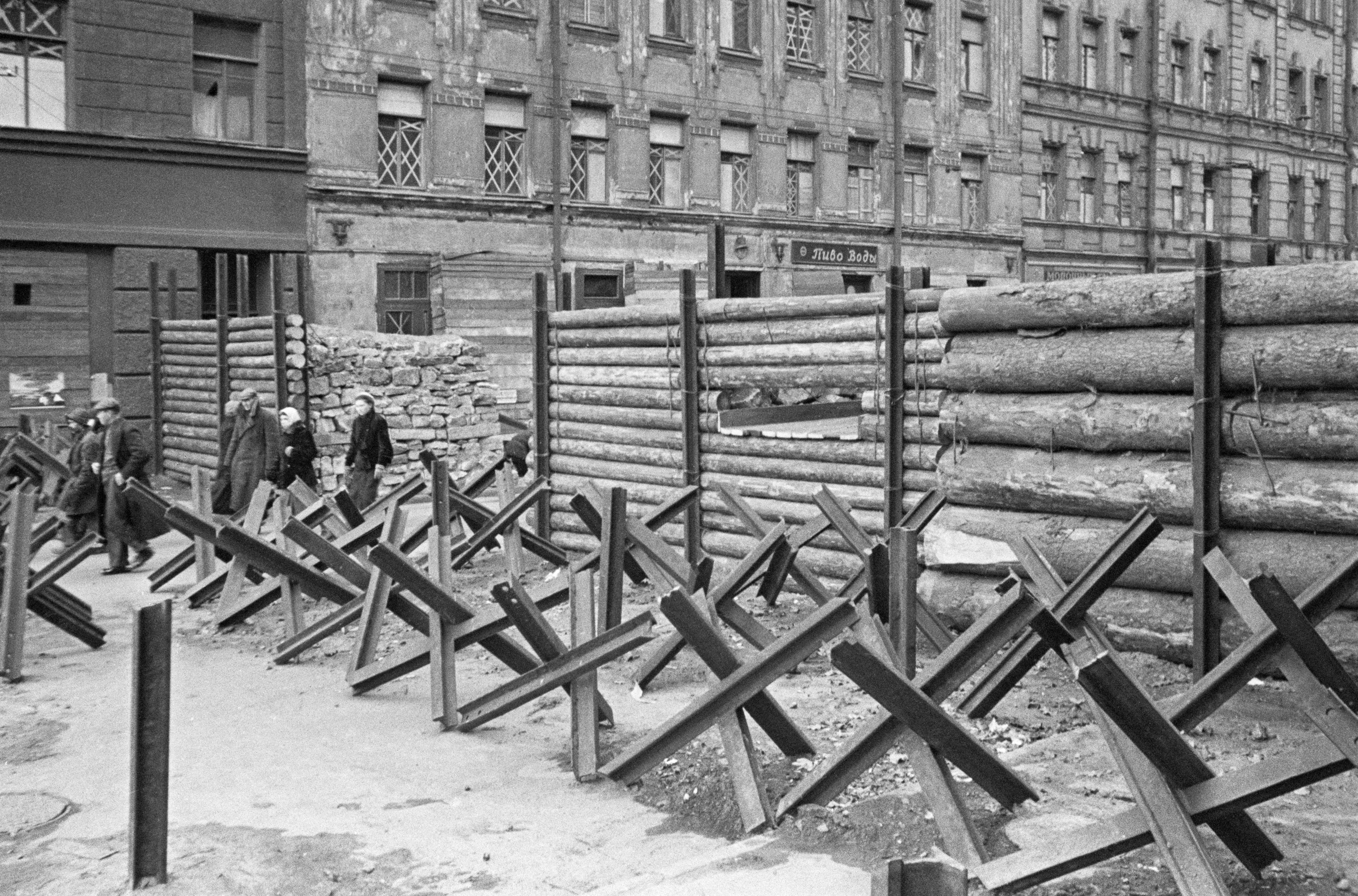 El bloqueo duró 872 días, desde el 8 de septiembre de 1941 hasta el 27 de enero de 1944