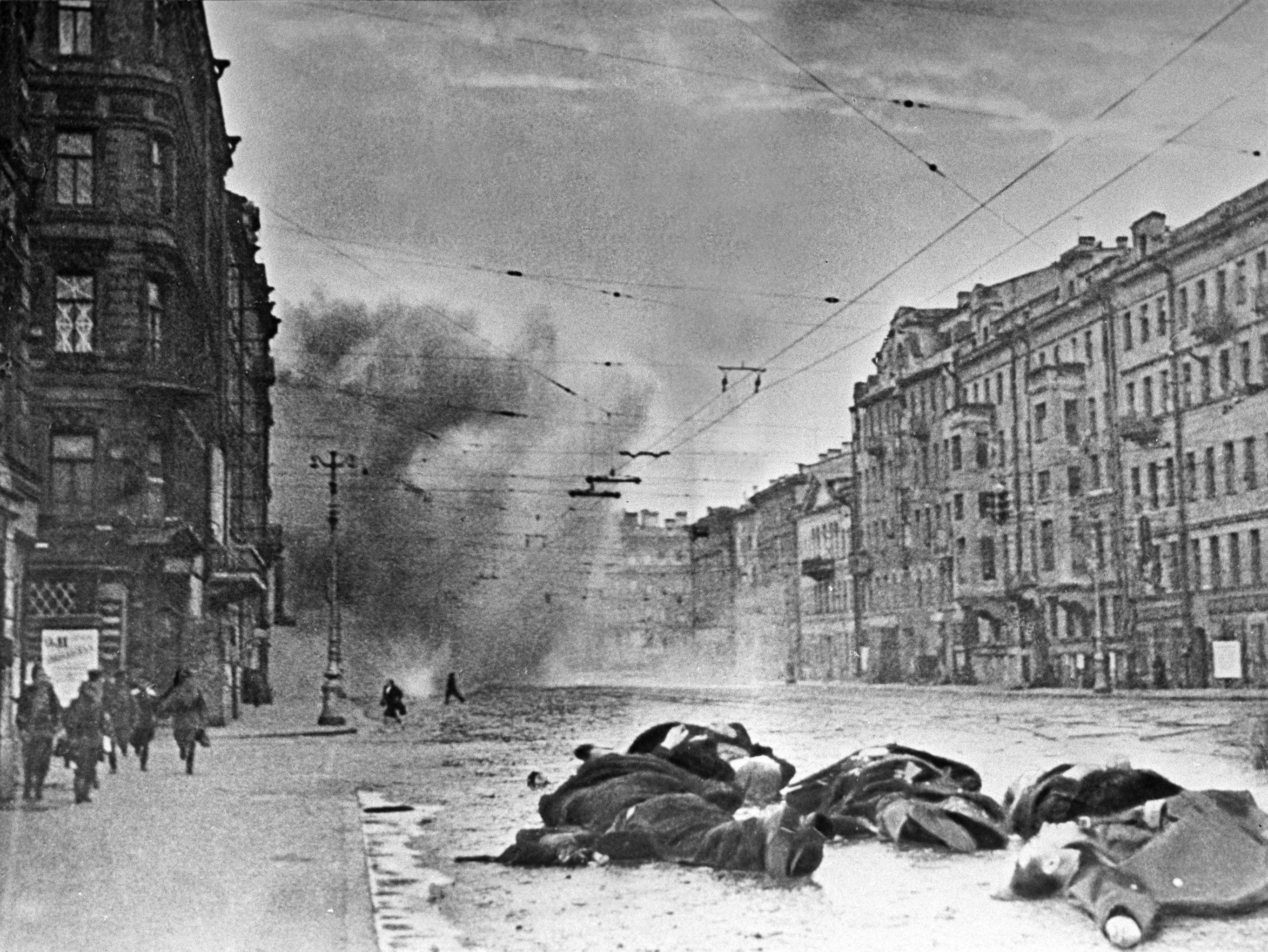 630.000 personas murieron en Leningrado durante el sitio: el 97 % pereció a causa del hambre
