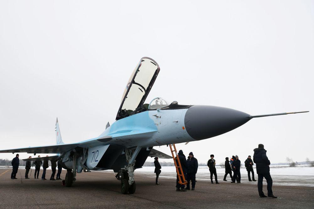 La presentación oficial del nuevo caza ruso MiG-35