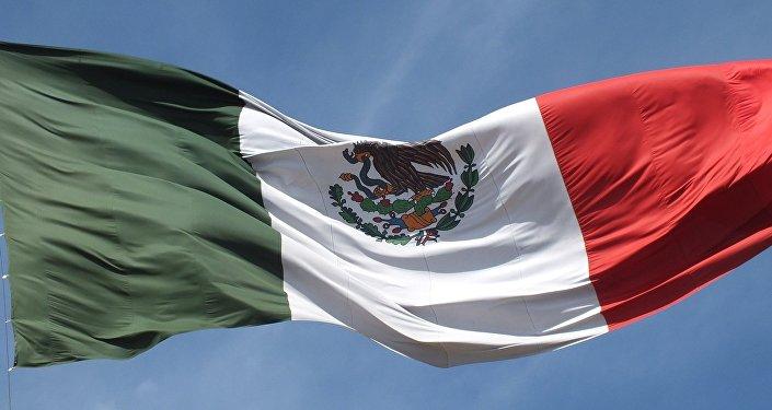 La bandera de México (archivo)