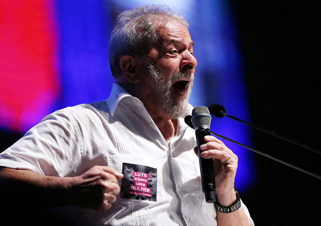 Former Brazilian President Luiz Inacio Lula da Silva speaks during a congress about education in Brasilia, Brazil January 12, 2017