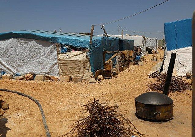 Campamento de refugiados sirios en Líbano (archivo)