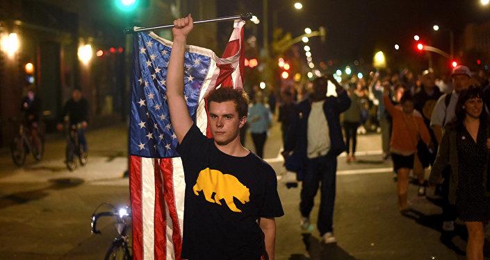 Protestas contra Trump en California