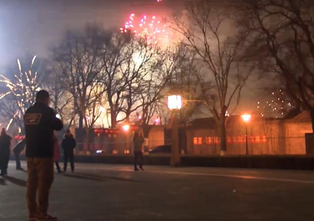 Así recibió Pekín el Año Nuevo del Gallo de Fuego