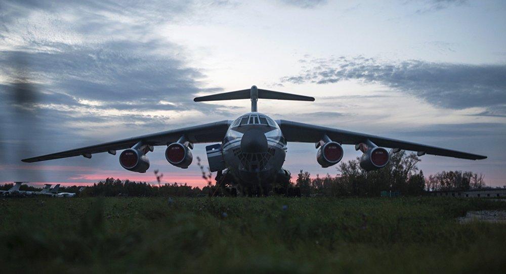 El avión Il-76 ruso