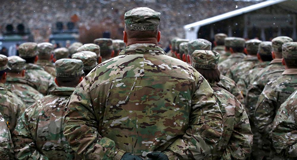 Soldados estadounidenses en Polonia