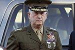 James Mattis, secretario de Defensa de los Estados Unidos