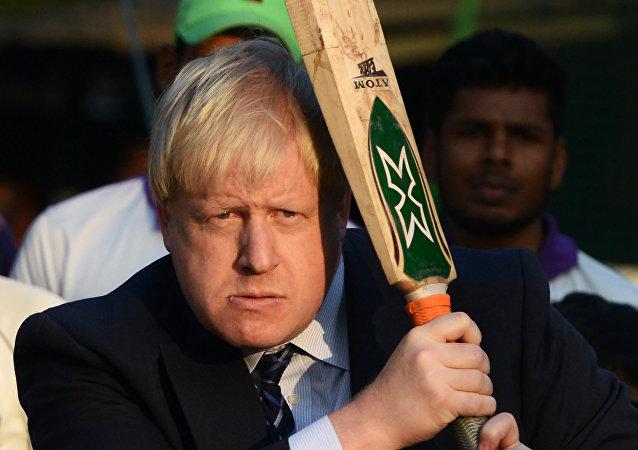 Boris Johnson, canciller británico (archivo)