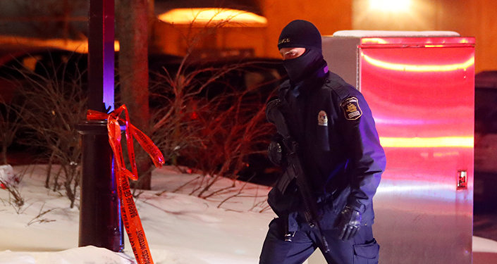 La policía de Canadá
