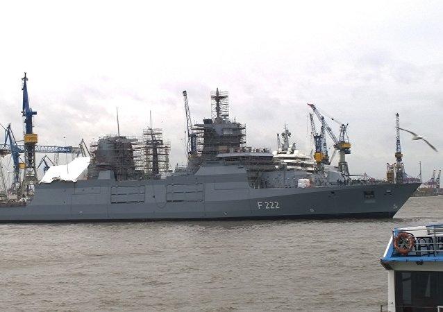 La fregata Baden-Württemberg