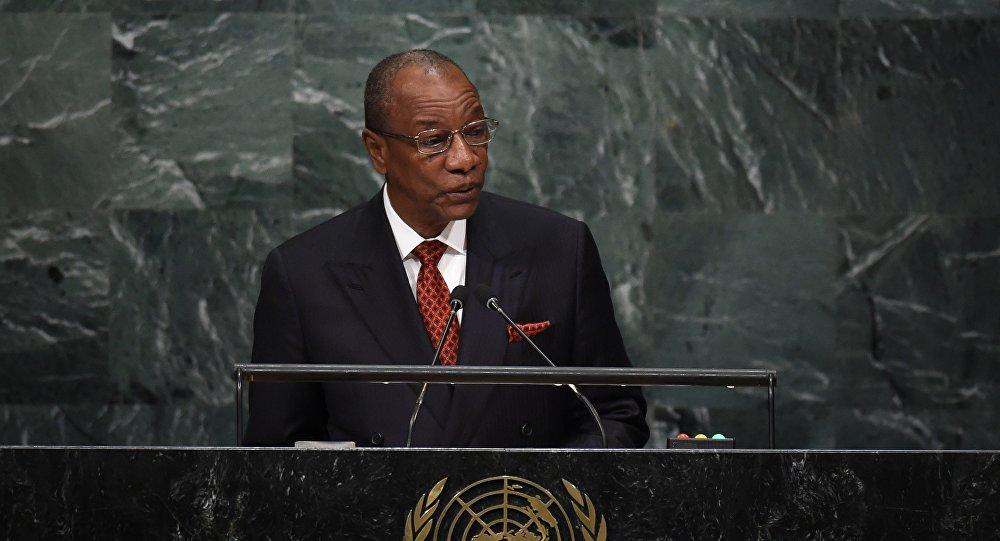 Presidente de Guinea, Alpha Condé
