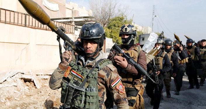 Soldados de Irak (archivo)