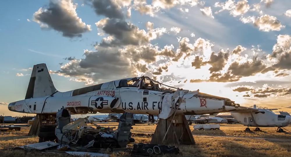 El mayor 'cementerio' de aviones militares