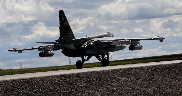 Caza Su-25 ruso