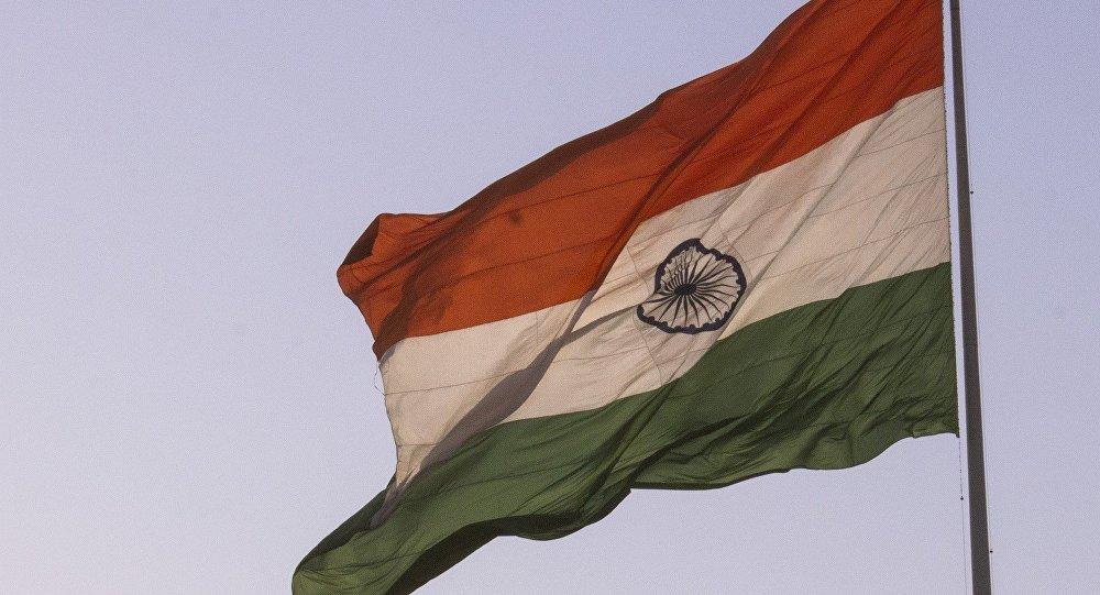Bandera de la India (archivo)