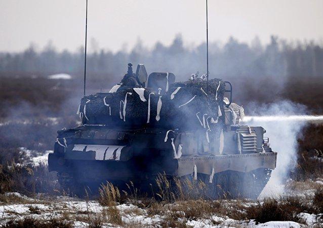 Las fuerzas de la OTAN en Polonia