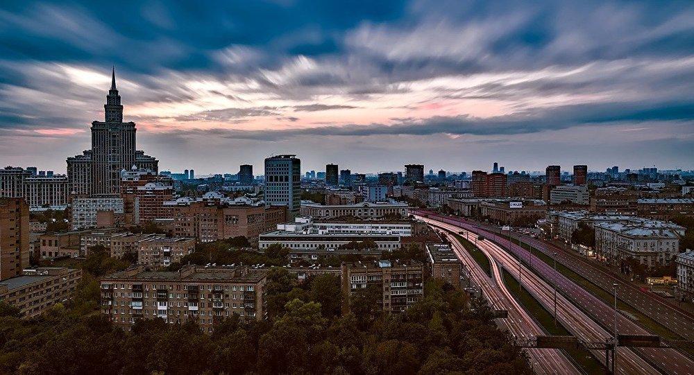 Moscú, la capital de Rusia (archivo)
