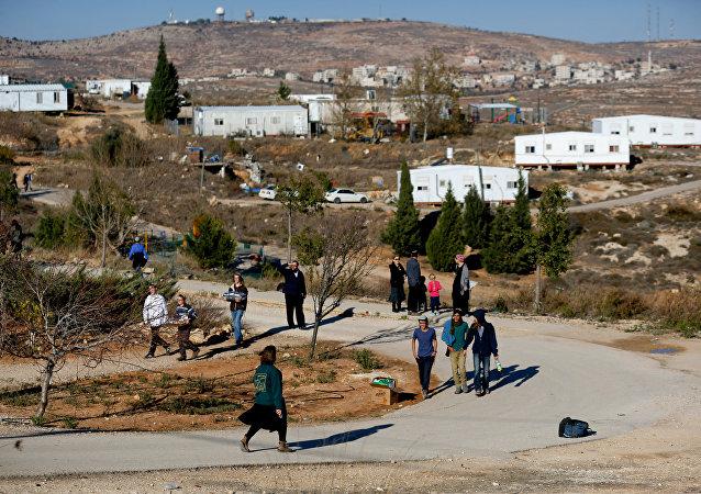 El asentamiento judío de Amona (archivo)