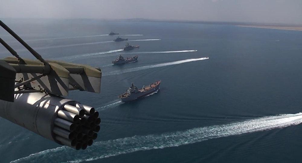 Buques de la Armada rusa (archivo)