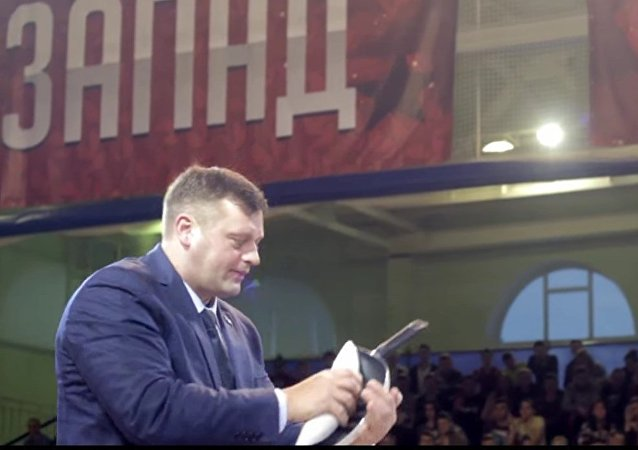 Alexandr Múromski convierte una sartén en una tubería