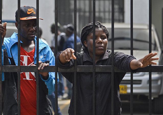 Migrantes haitianos en Colombia