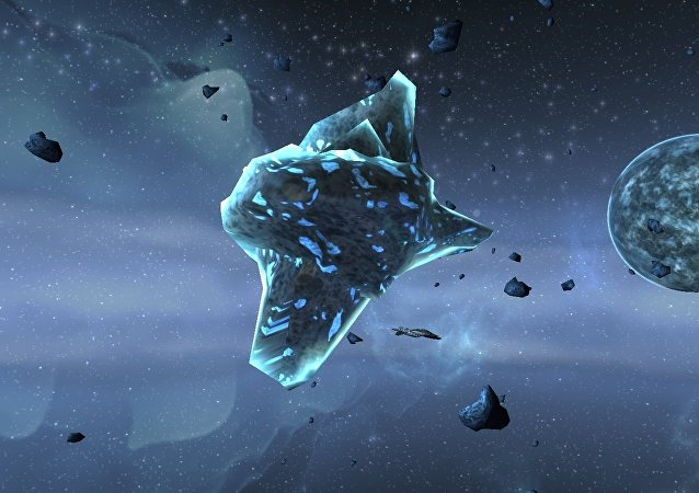 Asteroides (ilustración)