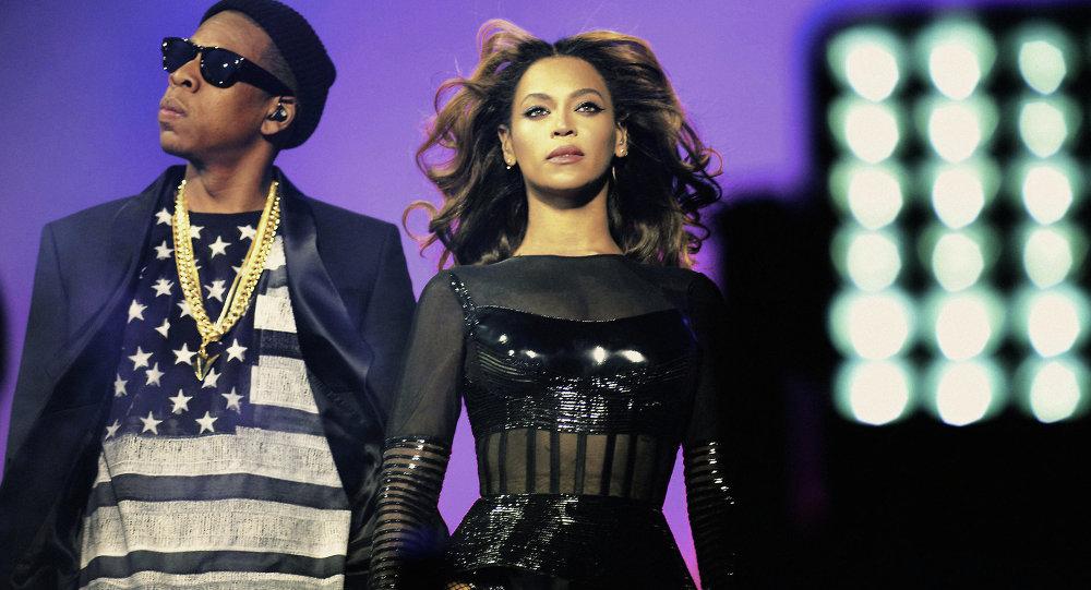 Beyonce y su marido Jay Z (Archivo)