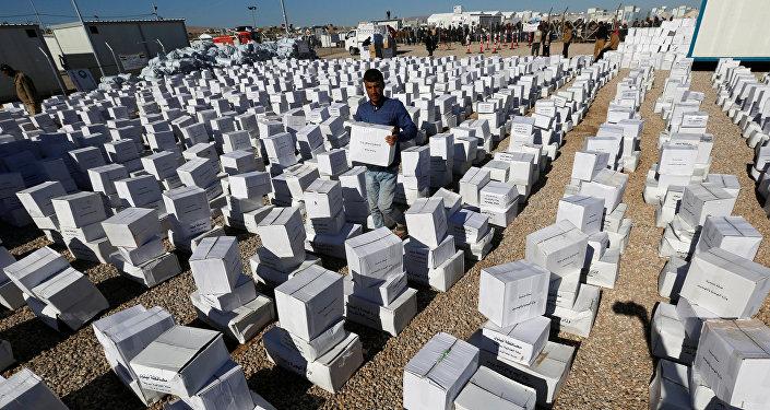 La situación humanitaria en Irak (archivo)