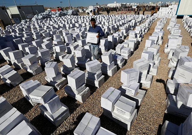 Ayuda humanitaria (archivo)