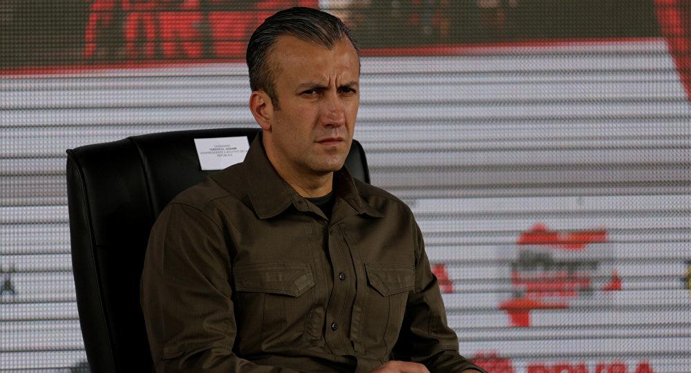 Tareck El Aissami, vicepresidente de Venezuela (archivo)