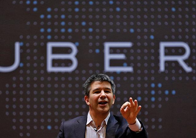 Travis Kalanick, director ejecutivo de Uber