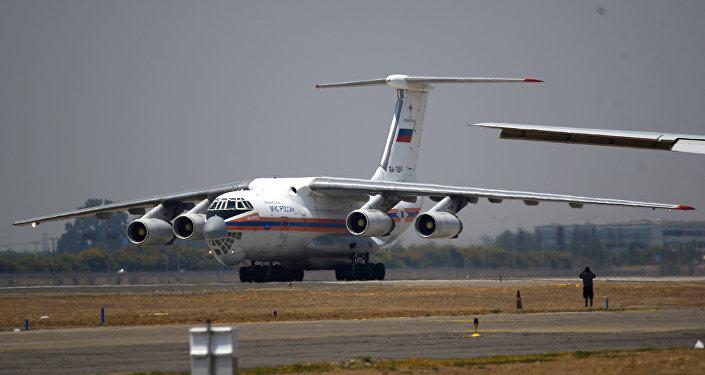El avión ruso Il-76 (archivo)