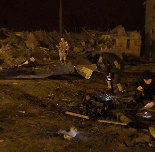 Las consecuencias de los ataques contra Donetsk